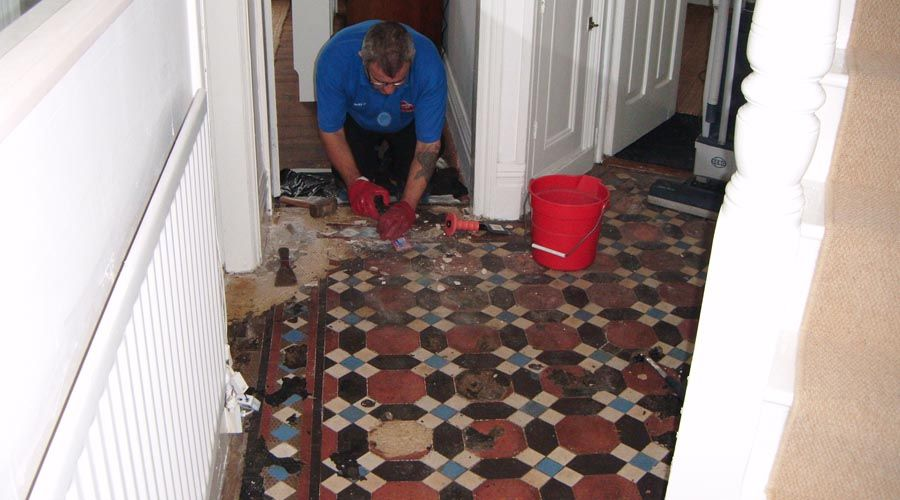 Rugby tile stone grout cleaning restoration services for How to clean unsealed grout